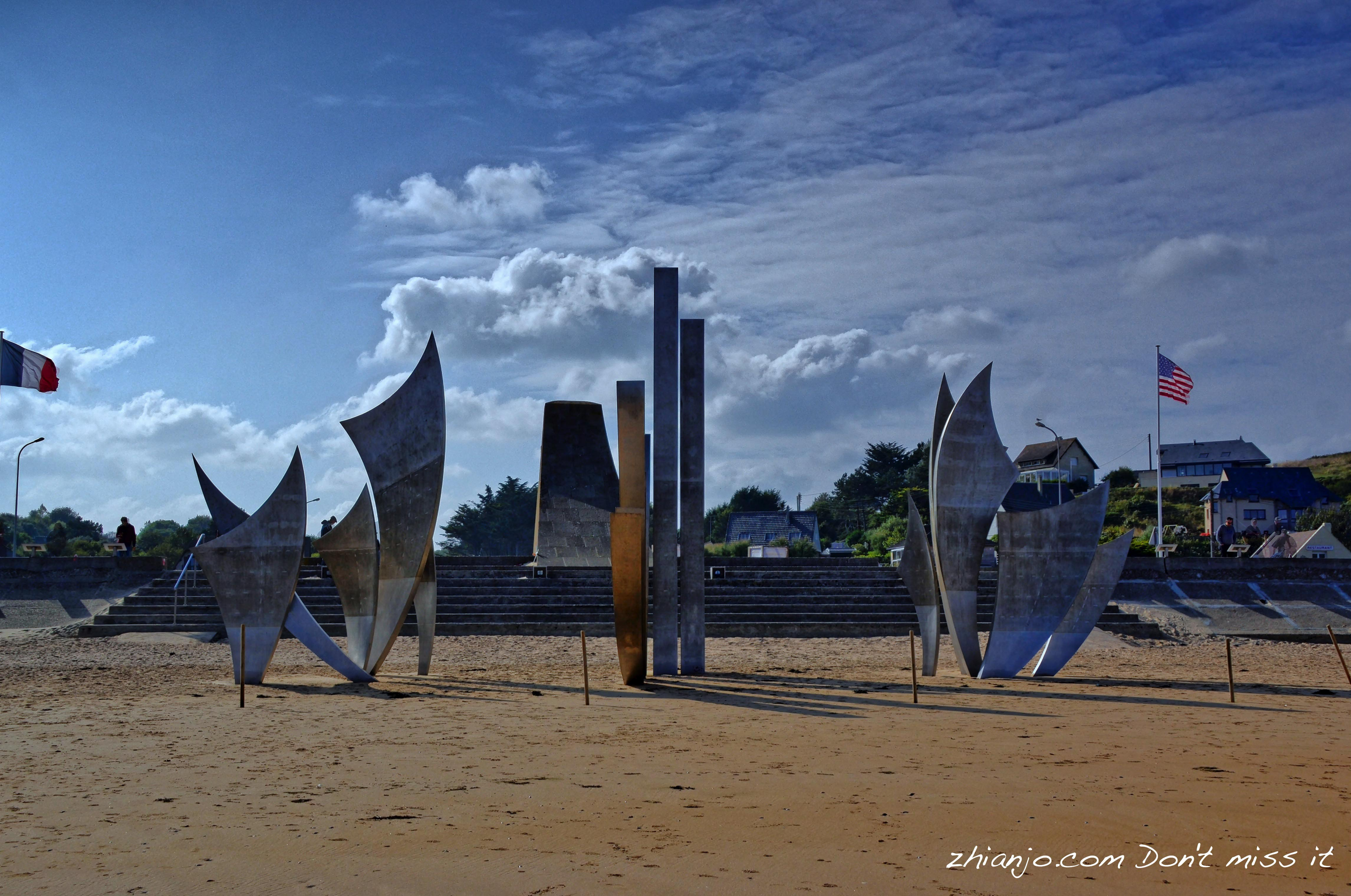 Omaha Beach Monument, Les Braves